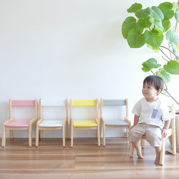 キッズチェア 木製 Circle キッズチェア キッズチェア 子供椅子 木製 ローチェア 子供用 子供部屋 かわいい おしゃれ スタッキング 軽い 【あす楽対応】