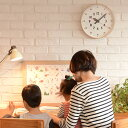 Lemnos レムノス ふんぷんくろっく 【ラッピング対応】 時計 壁掛け時計 インテリア クロック キッズ時計 リビング 子供部屋 知育 レムノス こども