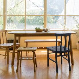 SIEVE シーヴ merge ダイニングテーブル ラウンド (W165×D85×H72cm) 【ノベルティ対象外】 ダイニングテーブル 木製 無垢 ラウンド オーバル ダイニング テーブル 食卓 北欧