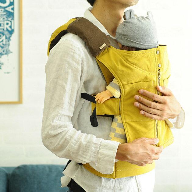 おしゃれなパパにおすすめの抱っこひも CUSE BERRY キューズベリー おんぶ抱っこひも インナーメッシュ 【ラッピング対応】 抱っこひも 抱っこ紐 おんぶひも おしゃれ 軽い 無地 日本製 ベビーキャリー パパ かっこいい
