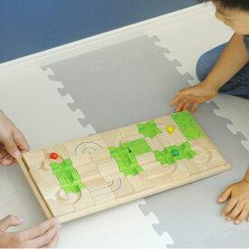 Voila(ボイラ) マザベル VOILA 立体パズル 迷路 めいろ ゲーム 木のおもちゃ スロープ 知育玩具 3歳 積み木 ブロック ピタゴラスイッチ 脳トレ 【あす楽対応】