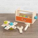 PLAN TOYS(プラントイ) ロボットツールボックス 【ラッピング対応】 おもちゃ ロボット 工具 ツールボックス 大工さん…