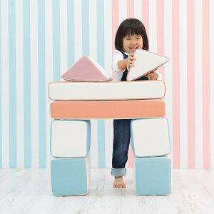 iebito(イエビト) PLAYクッション デラックスセット 積み木 つみき クッション ブロック 布製 室内玩具 大型 誕生日 プレゼント キッズスペース キッズコーナー