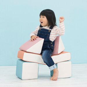 iebito(イエビト) PLAYクッション ベーシックセット 積み木 つみき クッション ブロック 布製 室内玩具 大型 誕生日 プレゼント キッズスペース キッズコーナー