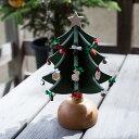 【100円OFFボーナスクーポン】 Oak Village (オークヴィレッジ) オルゴールツリー プチ オルゴール クリスマス クリ…