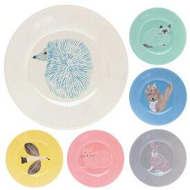 松尾ミユキ フリープレート S お皿 中皿 フルーツ皿 ケーキ皿 かわいい おしゃれ 磁器 食洗器対応 レンジ可 オーブン可 【あす楽対応】