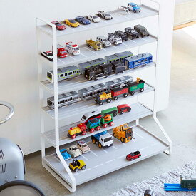 tower タワー ミニカー&レールトイラック ミニカー 収納 レールトイ おもちゃ 電車 ラック おしゃれ トミカ ディスプレイ 棚