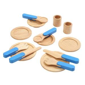 Voila ボイラ テーブルウエア I'm TOY wood toy おうち時間 木のおもちゃ 木製玩具 ウッドトイ 木製トイ 知育おもちゃ おままごとセット 教育玩具