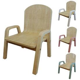 シモオカ RURU キッズチェア スタッキング こども用 イス 椅子