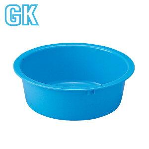 GK リスタライ 42型 タライ たらい 洗濯 手洗い 洗い桶 洗濯かご プラスチック 丸型 業務用 バケツ 頑丈 丈夫 洗面器 青 ブルー 16L 16リットル 日本製 国産 メーカー直販 リス
