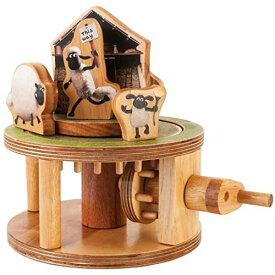 ティンバーキット ひつじのショーン 木製模型 3Dパズル 組み立てキット ひつじ小屋 ビッツァー ティミー クラフトキット 知育玩具 おもちゃ 男の子 女の子 工作 【日本正規品】