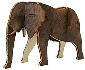 TOUCHWOODDESIGN 3D 木製 パズルキット 象 リアル 組み立て エレファント クラフトキット ウッドパズル おもちゃ 知育玩具 男の子 女の子 大人 ぞう 【日本正規代理品】