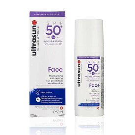 ultrasun(アルトラサン) 日やけ止めクリーム フェイス UV 敏感肌用 SPF50+ PA++++ トリプルプロテクション 50mL