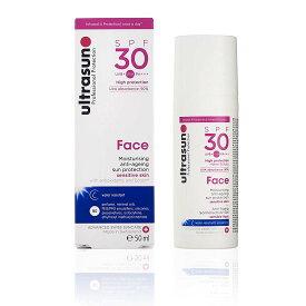 ultrasun(アルトラサン) 日焼け止めローション フェイス UV 敏感肌用 SPF30 PA+++ トリプルプロテクション 50mL