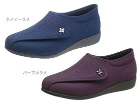 □-【快歩主義】コンフォートタウンシューズ L011【PU/L・NV/D】