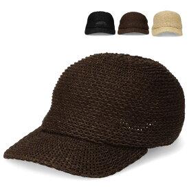 【つば広ハット】Paper Ball Cap ボールキャップ キャップ サーモ 天然 帽子 ストロー ウォーキング 散歩 ナチュラル UV対策 ぼうし UV 日除け 全3色 サイズ調整 女性用 レディース lcn-y07482