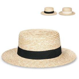 【つば広カンカン】Mugiwara Kankan 麦わら ブリム カンカン ハット 帽子 ストローハット ウォーキング 散歩 シンプル UV対策 ナチュラル UV 日除け 全2色 サイズ調整 女性用 レディース lcn-n07472