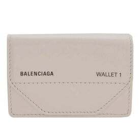 バレンシアガ BALENCIAGA ショップ袋付き 三つ折り財布 5290980st2n1260   ウォレット サイフ さいふ 財布 ブランド財布 コンパクト レディース 可愛い 小銭入れ カード入れ ブランド ファッション 2021AW