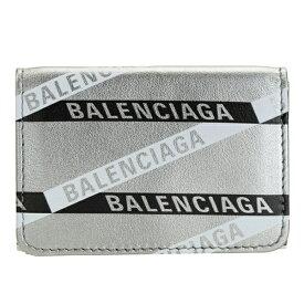 バレンシアガ BALENCIAGA ショップ袋付き 三つ折り財布 メンズ レディース アウトレット 55192100t0n1480-zz | さいふ サイフ ウォレット 財布 カード 収納 シンプル ブランド オシャレ おしゃれ レザー ユニセックス 男女兼用