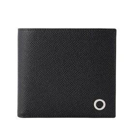 ブルガリ 財布 ブランド財布 BVLGARI メンズ 二つ折り財布 BB MAN ブラック グレインカーフレザー 30396 ブルガリアウトレット