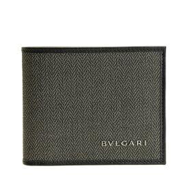 ブルガリ BVLGARI 二つ折り財布 札入れ メンズ アウトレット 32580 | さいふ サイフ ウォレット 財布 ブランド財布 カード 収納 札入れ メンズ かっこいい オシャレ おしゃれ 使いやすい シンプル ブランド レザー