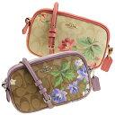 【週末限定セール】コーチ COACH 斜めがけショルダーバッグ シグネチャー 花柄 アウトレット f73007 | バッグ 鞄 かば…