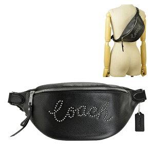 コーチ COACH ウエストバッグ ウエストポーチ ボディバッグ メンズ レディース スタッズ アウトレット f88875svbk | バッグ バック かばん 鞄 肩掛け 斜め掛け 斜めがけ オシャレ おしゃれ ブラン