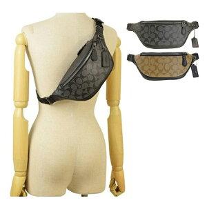 コーチ COACH ヒップバッグ ボディバッグ メンズ シグネチャー アウトレット f84711 | バッグ バック かばん 鞄 肩掛け 斜め掛け 斜めがけ オシャレ おしゃれ ブランド