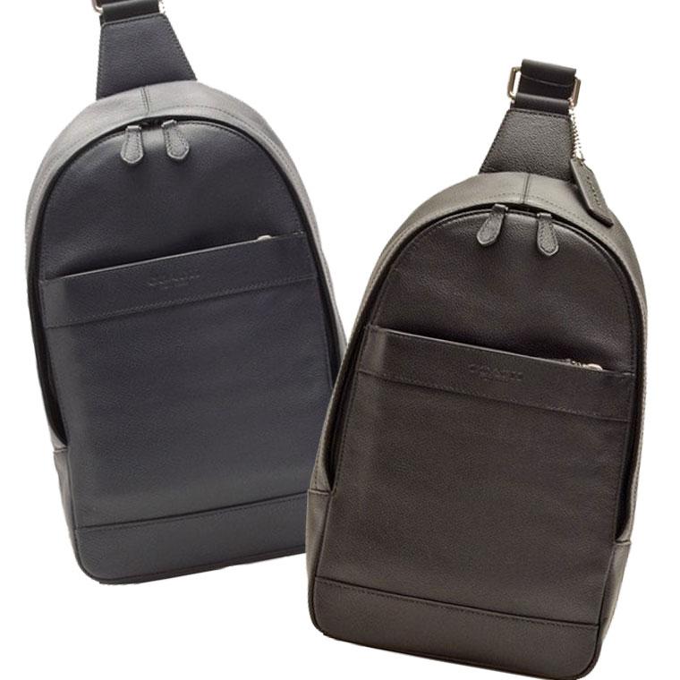 コーチ COACH ショルダーバッグ f54770 | スリングバッグ ボディバッグ バック バッグ 鞄 かばん 肩掛け 斜め掛け 斜めがけ コンパクト メンズ かっこいい おしゃれ オシャレ ブランド レザー 本革 プレゼント アウトレット