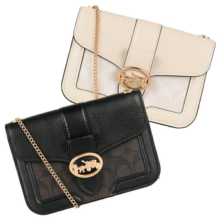 コーチ COACH 2wayショルダーバッグ シグネチャー チェーン アウトレット f29434 | トートバッグ バック バッグ 鞄 かばん コンパクト 肩掛け 斜め掛け 斜めがけ レディース かわいい 可愛い おしゃれ オシャレ ブランド PVC