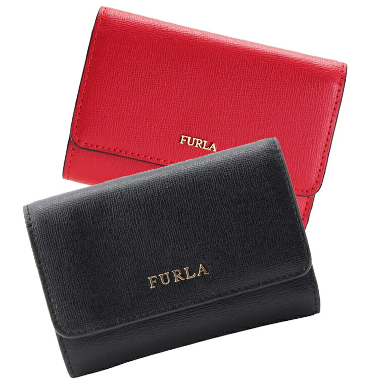 フルラ 財布 三つ折り FURLA レディース pr76 | ミニ 折りたたみ 薄い 軽量 小さめ 小さい 小銭入れ ミニウォレット サイフ さいふ 財布 カード入れ 多い レディース かわいい 可愛い 大人可愛い 使いやすい ブランド プレゼント レザー 革