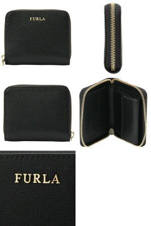 フルラFURLA二つ折り財布ラウンドファスナーレディースpr84
