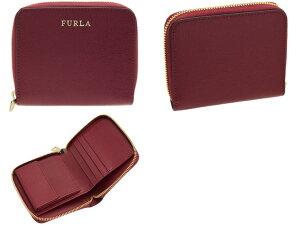 フルラFURLA二つ折り財布ラウンドファスナーpr84|ミニ折りたたみ薄い軽量小さめ小さい小銭入れウォレットサイフさいふ財布カード入れ多いレディースかわいい可愛い大人可愛い使いやすいブランドプレゼントレザー革