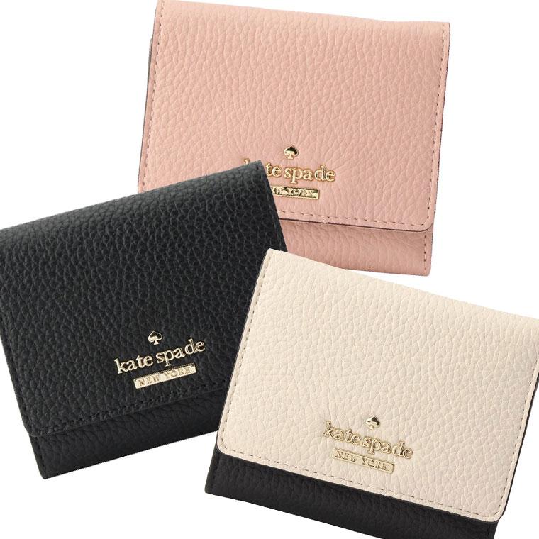 ケイトスペード KATE SPADE 三つ折り財布 pwru5594 | 三つ折り パスケース 小銭入れ ウォレット サイフ さいふ 財布 カード入れ 多い レディース かわいい 可愛い 薄い 薄型 コンパクト 使いやすい ブランド レザー セール