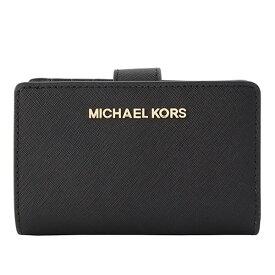 マイケル マイケルコース MICHAEL MICHAEL KORS 二つ折り財布 35f7gtvf2l-black   L字ファスナー さいふ サイフ ウォレット 財布 ブランド財布 カード入れ 多い レディース かわいい 可愛い 使いやすい BIFLD ZIP COIN WLLET ブランド アウトレット