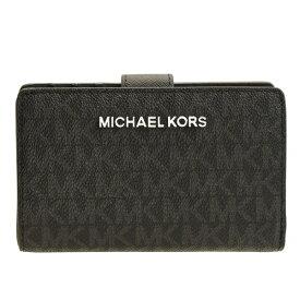 マイケル マイケルコース MICHAEL MICHAEL KORS 二つ折り財布 アウトレット 35f8stvf2b-blkblk   ウォレット サイフ さいふ 財布 ブランド財布 小銭入れ ファスナー カード入れ 多い レディース かわいい 可愛い オシャレ おしゃれ ブランド 本革