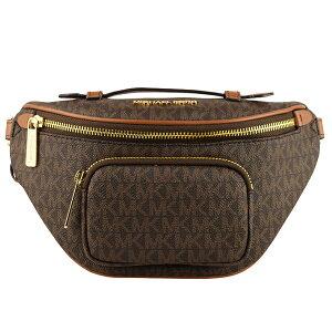 マイケル マイケルコース MICHAEL MICHAEL KORS ウエストバッグ ウエストポーチ ボディバッグ アウトレット ERIN 35f0gern1b-brown | ベルト バッグ かばん 鞄 斜め掛け 斜めがけ 旅行 おしゃれ オシャレ