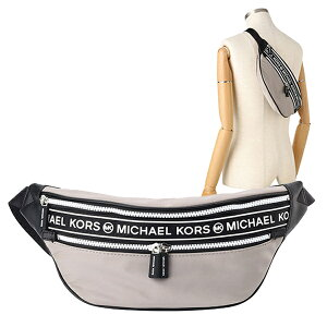 マイケル マイケルコース MICHAEL MICHAEL KORS ウエストバッグ ウエストポーチ ボディバッグ アウトレット 35h9sy9n8c-pearlgr | KENLY ベルト バッグ かばん 鞄 斜め掛け 斜めがけ 旅行 スポーティ オシ