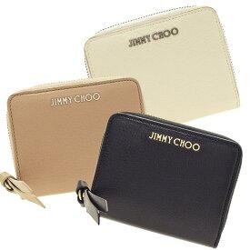 ジミーチュウ JIMMY CHOO 二つ折り財布 regina   ファスナー ラウンドファスナー ウォレット サイフ さいふ 財布 ブランド財布 カード入れ 多い レディース 小銭入れ かわいい 可愛い おしゃれ オシャレ コンパクト ブランド レザー