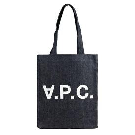 【全品5%OFFクーポン配布中】アーペーセー A.P.C. トートバッグ m61445-iai   トート ショルダー バッグ かばん 鞄 通勤 A4 肩掛け 男女兼用 ユニセックス ブランド コットン 綿 エコ エコバッグ シンプル 大きい APC ロゴ 母の日 早割