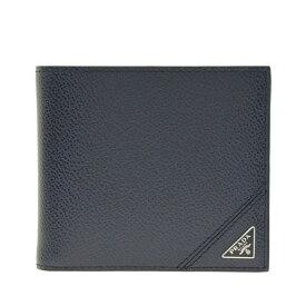 プラダ PRADA 二つ折り財布 メンズ アウトレット 2mo738vimigr-balt   さいふ サイフ ウォレット 財布 ブランド財布 コンパクト かっこいい おしゃれ オシャレ 使いやすい ブランド ファッション 2021AW