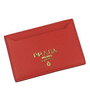 【最大3000円OFFクーポン配布中】プラダ PRADA カードケース アウトレット 1mc208vigr-ross-zz | 定期入れ ICカード カード入れ ケース コンパクト かわいい 可愛い オシャレ おしゃれ ブランド 母の日