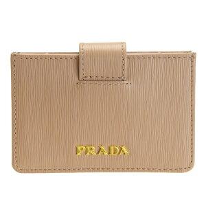 プラダ PRADA ショップ袋付き カードケース 名刺入れ アウトレット 1mc211vimo-cipr-zz | シンプル レディース メンズ アコーディオン カードホルダー ブランド レザー ビジネス 父の日ギフト 送料