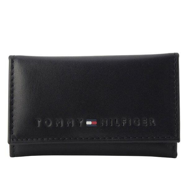 トミーヒルフィガー TOMMY HILFIGER 6連キーケース レディース ブラック 31tl17x005-001 セール SS1806