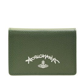 ヴィヴィアン・ウエストウッド Vivienne Westwood カードケース パスケース 51110020-green | 定期入れ ICカード カード入れ ケース レディース コンパクト かわいい 可愛い オシャレ おしゃれ ブランド レザー 本革 夏