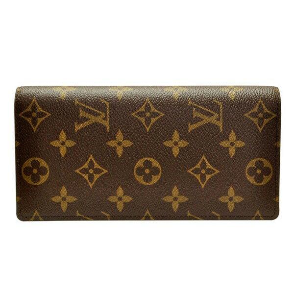 ルイ ヴィトン 財布 LOUIS VUITTON メンズ 二つ折り長財布「ポルトフォイユ・プラザ」 モノグラム M66540