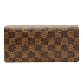 ルイ ヴィトン 財布 LOUIS VUITTON ショップ袋付き メンズ 二つ折り長財布「ポルトフォイユ・プラザ」 ダミエ N60017 ルイ ヴィトン ルイビトン
