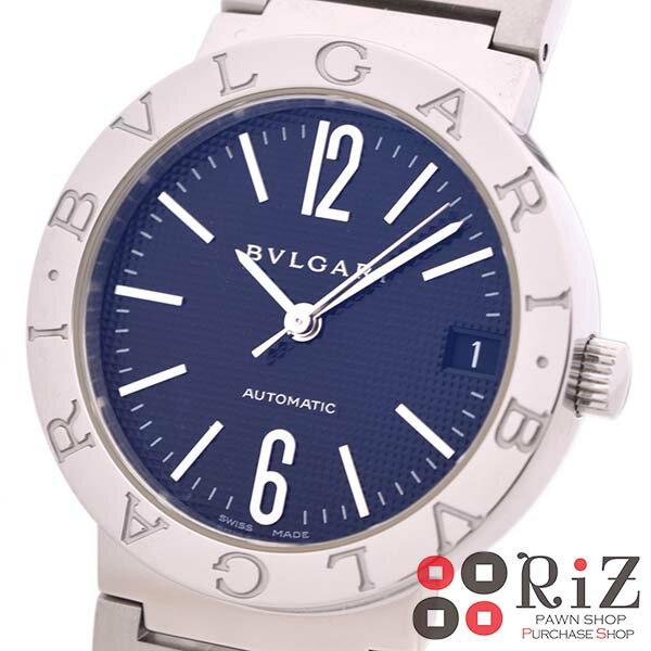 【中古】 BVLGARI (ブルガリ) ブルガリブルガリ 時計 自動巻き/ボーイズ Black BB33BSSD/N unused:S