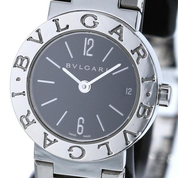 【中古】 BVLGARI (ブルガリ) ブルガリブルガリ 時計 クオーツ/レディース BVLGARI BVLGARI Black BB23SSD used:A