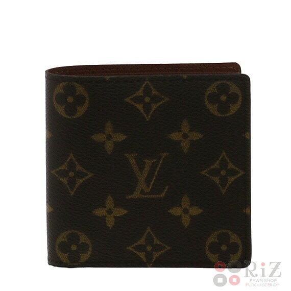 【中古】 LOUIS VUITTON (ルイヴィトン) ポルトビエ・カルトクレディモネ 財布 二つ折り財布(小銭入有) Monogram モノグラム M61665 unused:S